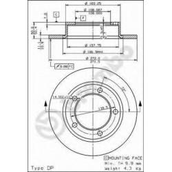Brake Disc AP 14095