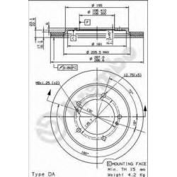 Δισκόπλακα AP 24843