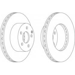 Δισκόπλακα FERODO DDF1668