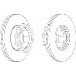 Δισκόπλακα FERODO FCR120A
