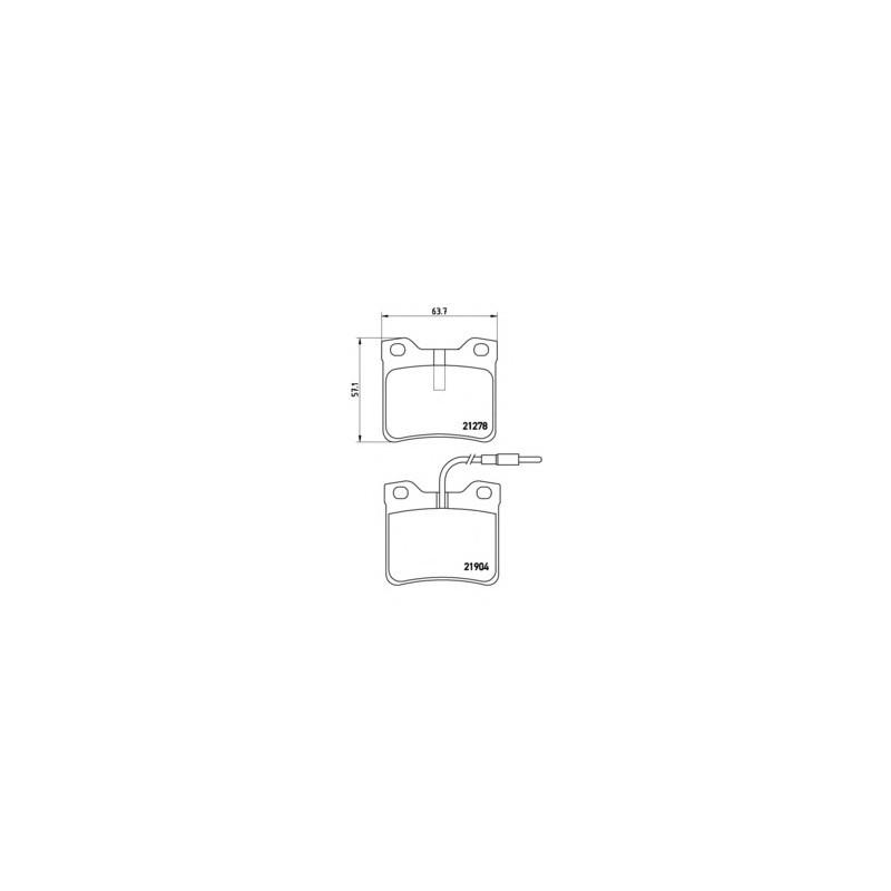 BOSCH REAR WIPER BLADE aerotwin a251h