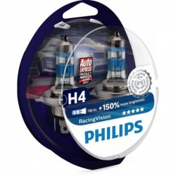 Λάμπες Philips  H4 Racing...