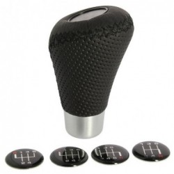 Gear Knob Black With Black...