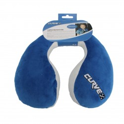 Neck Pillow Curve Blue