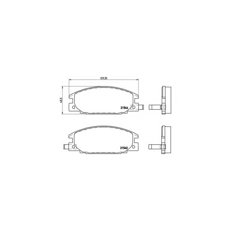 PHILIPS H7 WHITE VISION 12V 55W 4300K 60% MORE LIGHT (SINGLE)